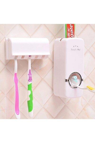 Otomatik Macun Sıkacağı ve Diş Fırçalık Seti