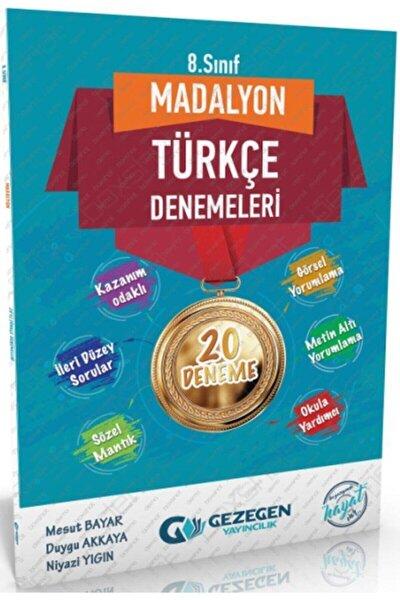8. Sınıf Türkçe Madalyon Denemeleri Gezegen