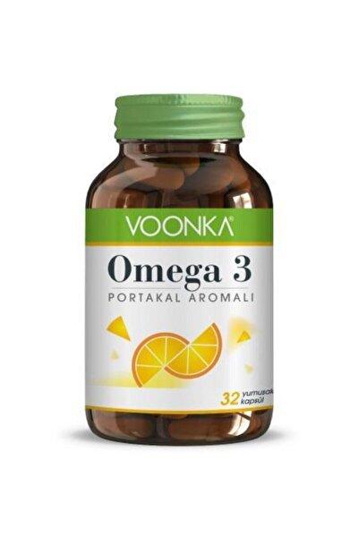 Omega 3 Portakal Aromalı 32 Kapsül