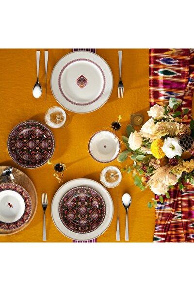 Agra 24 Parça 6 Kişilik Porselen Yemek Takımı