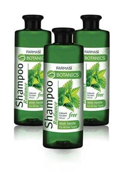 Botanics Isırgan Özlü Parlaklık Veren Şampuan-500ml 3 Adet