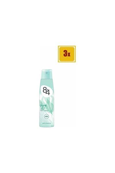 Pure Sprey Deodorant 150 ml X 3 Adet