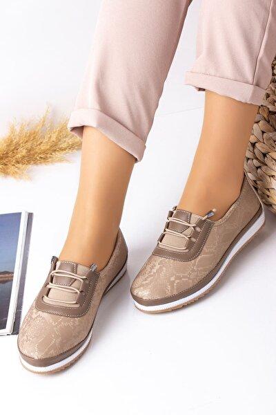 Vizon Desenli Hafif Taban Ortopedik Günlük Ayakkabı