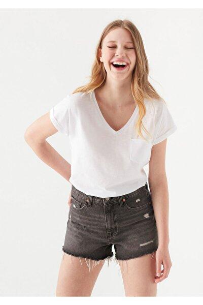 Beyaz Basic Tişört