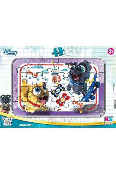 Puppy Dog Pals Bingo Ve Rolinin Maceraları Frame Puzzle 12 Parça
