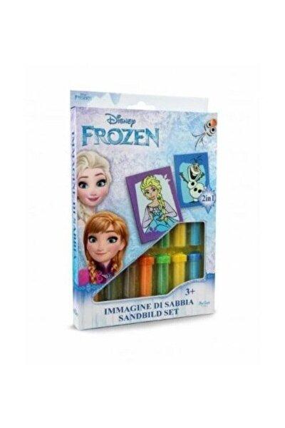 Disney Frozen Elsa ve Olaf Kum Boyama Seti