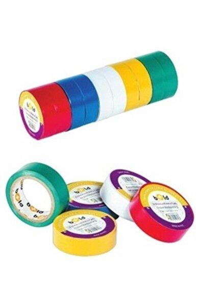 Elektirik Bandı Karışık Renkli 10 Lu