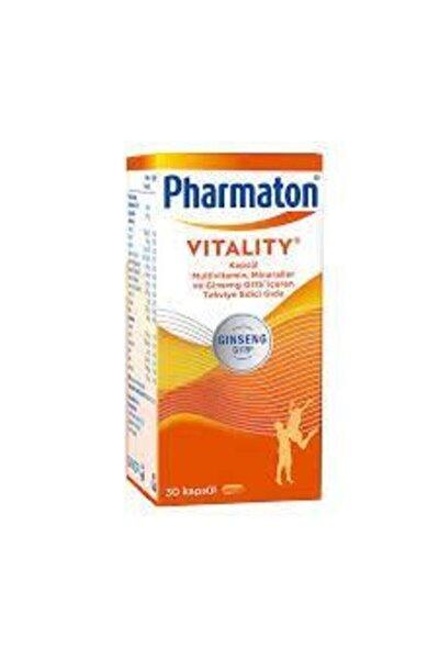 Vitality Multivitamin Mineraller ve Ginseng G115 İçeren Takviye Edici Gıda 30 Kapsül