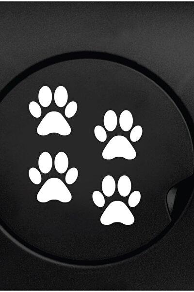 Patiler 4 Adet Sticker Yapıştırma   Kaput - Bagaj - Cam - Leptop   Siyah