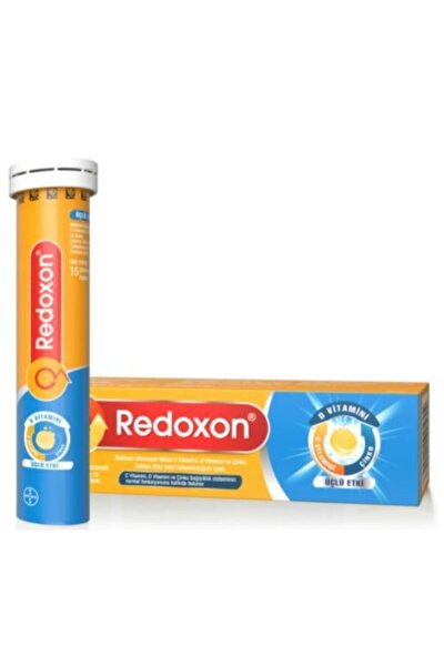 Redoxon Efervesan Üçlü Etki 15 Tablet