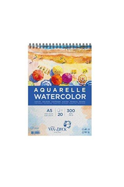 Aquarelle Watercolor Suluboya Resim Defteri A5 300 Gr 20 Yp