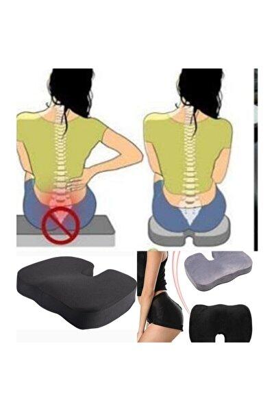 Ortopedik Oturuş Minderi Elastik Hemoroid Basur Fissür Destekli Oturma Yastığı