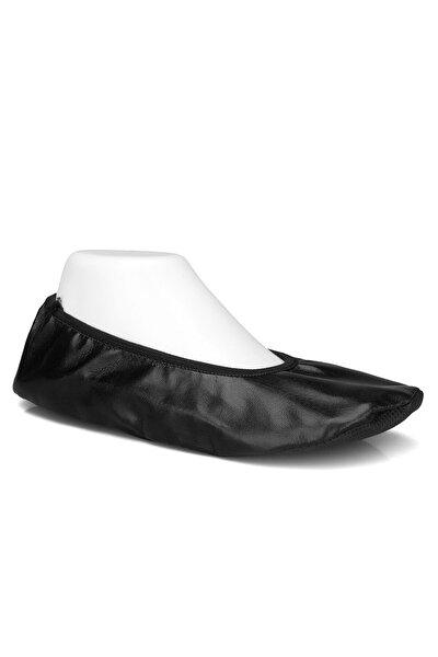 Siyah Gösteri Ayakkabısı Pisi Pisi Babet Ayakkabı