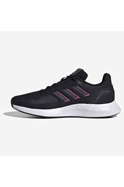 Kadın Siyah Beyaz Koşu ve Antreman Ayakkabısı Fy9624