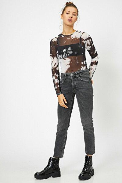 Kadın Siyah Jeans 0KAK47999MD
