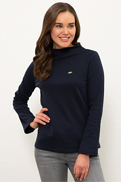 Lacıvert Kadın Sweatshirt