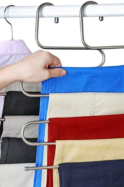 5 Katlı Metal Pantolon Eşarp Askısı Ev.03116.00