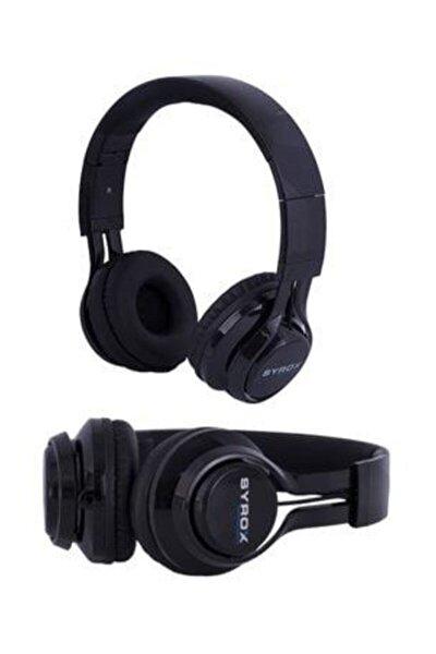Kulaküstü Mikrofonlu Aux Kablolu Kulaklık