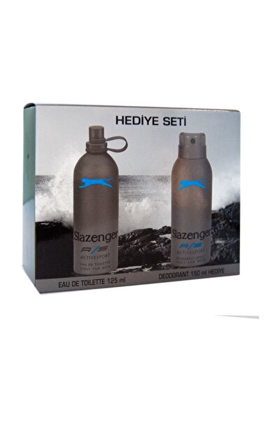Edt Active Sport 125 ml+deo Mavi