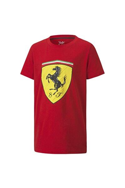SCUDERIA FERRARI Race BIG SHIELD Çocuk T-shirt