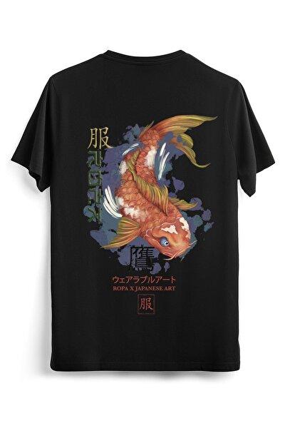 Koi Balığı Oversize Fit Unisex T-shirt