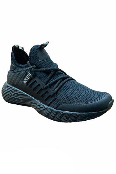 Erkek Siyah Yazlık Spor Ayakkabı