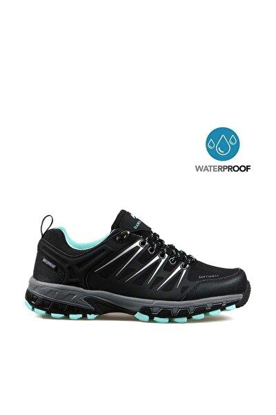 Hammerjack Kadın Outdoor Spor Ayakkabı 102 19905 - G Siyah-turkuaz 20w0419905