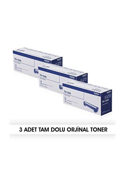 3 Adet  Tn-1040 Orjinal Toner- Hl-1111 / Dcp-1511 /mfc-1811 / Mfc-1815 - Kutusuz