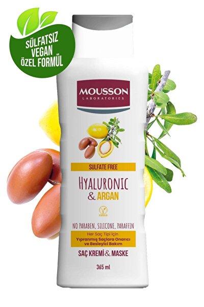 Hyaluronik Asit & Argan Içeren Onarıcı Ve Besleyici Saç Bakım Krem Ve Maskesi 365 ml