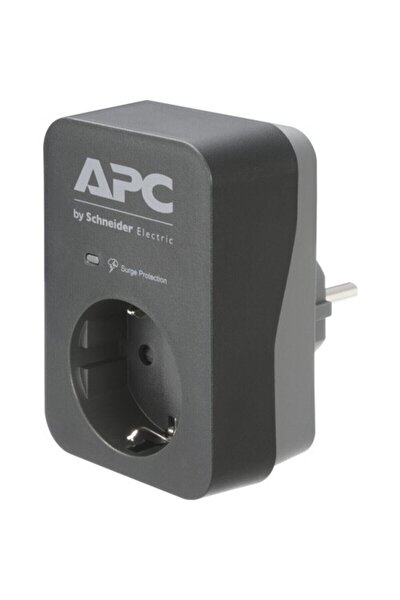 Apc Schneider Electric Apc Tekli Akım Korumalı Priz, Pme1wb-gr