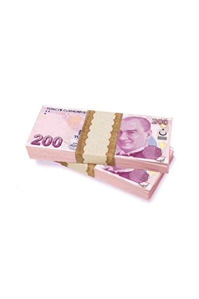 Sahte Geçersiz Düğün Parası - 100 Adet 200 Tl