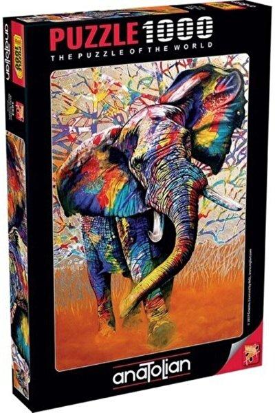 Anatolian 1000 Parça Puzzle Afrika Renkleri African Colours