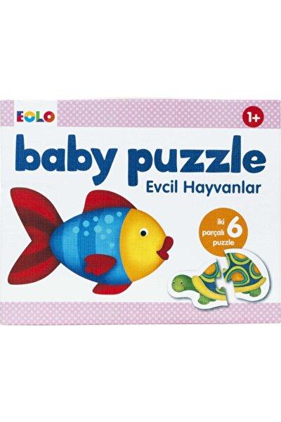 Evcil Hayvanlar Bebek Puzzle 12 Parça