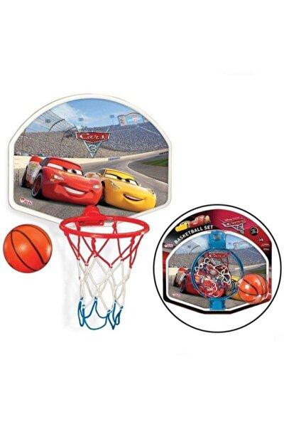 Cars Basket Potası ve Top Orta Boy Duvara Asılabilen Pota