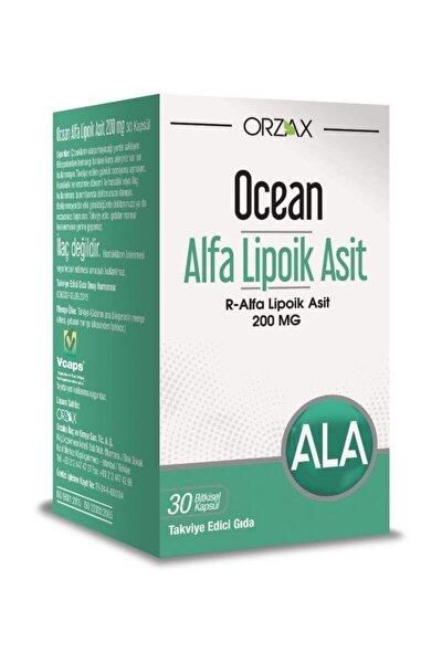 Orzax Alfa Lipoik Asit 200 Mg 30 Kapsül