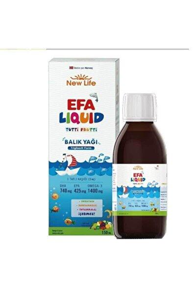Efa Liquid 150 Ml Tutti Frutti Balık Yağı Skt 02.2022