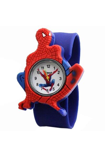Saat Örümcek Adam Kol Saati Pat Erkek Çocuk Kol Saati