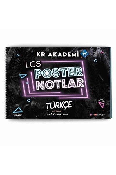 Kr Akademi 8.sınıf Lgs Türkçe Poster Notları