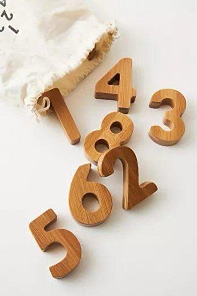 Ahşap Sayılar 1'den 9'a