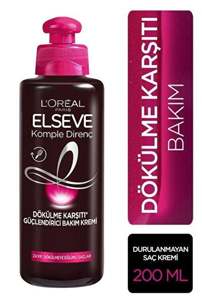L'oréal Paris Komple Direnç Dökülme Karşıtı Güçlendirici Bakım Kremi 200 ml