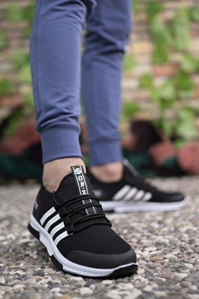 Generation X Siyah Beyaz Beyaz Unisex Sneaker 00122030