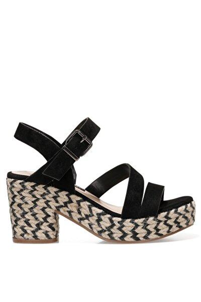 WEASANN 1FX Siyah Kadın Sandalet 101030533