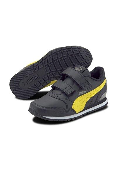 ST RUNNER V2 L V PS Siyah Erkek Çocuk Sneaker Ayakkabı 101119222
