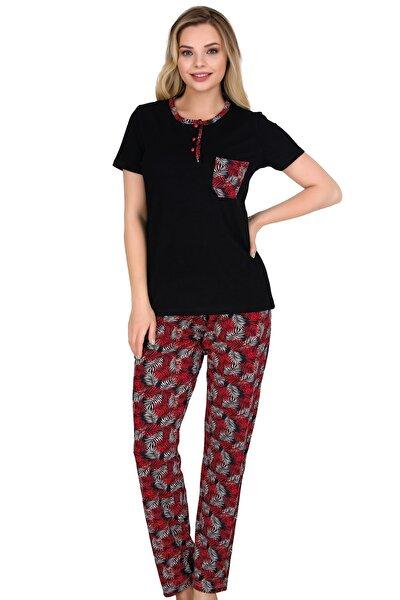 Sensu Kadın Pijama Takımı Kısa Kollu PJ3007