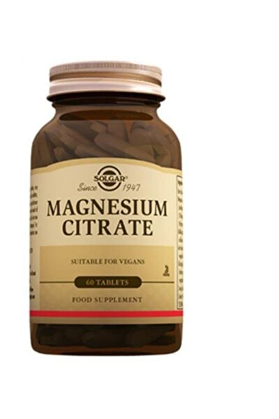 Magnesium Citrate Magnezyum Sitrat 60 Tablet