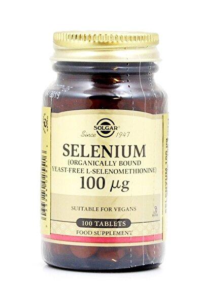 Selenium 100 mcg 100 Tablet 033984025516