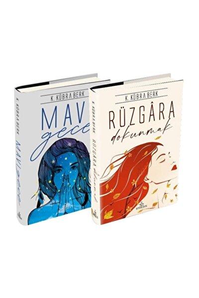 Rüzgara Dokunmak + Mavi Gece - K. Kübra Berk 2 Kitap Set - Ciltli