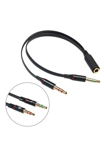 Kulaklık Mikrofon Çevirici Ayırıcı Switch Splitter 3.5mm