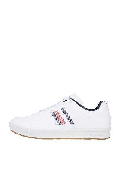 Erkek Beyaz Sneaker Sustaınable Knıt Cupsole Strıpes FM0FM03443