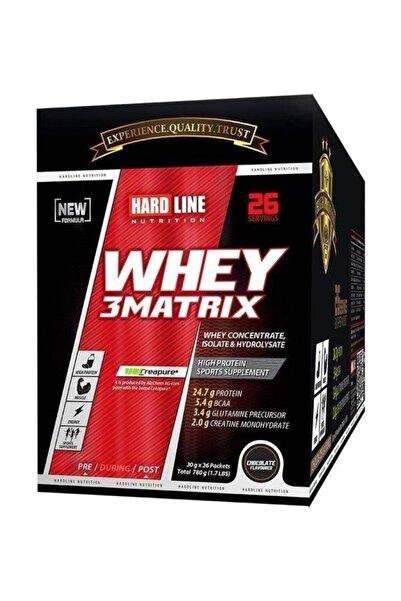 Whey 3 Matrıx Protein Tozu 780 gr 30*26 Chocolate